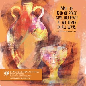 Peace & Global Witness Offering
